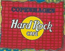 Hard Rock Cafe COPENHAGEN 2002 ABSTRACT SERIES PIN #64 of 64 New on Card! LE1000