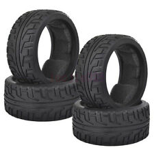 4PCS 102mm RC 1/8 On-Road Car Buggy Foam Rubber Tires Tyres 803