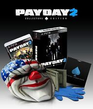 Payday 2 - Collector's Edition [PlayStation 3 PS3, Limited, Action Shooter] NEW