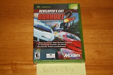 Burnout 2: Point of Impact Developer's Cut (Xbox) NEW SEALED BLACK LABEL MINT!