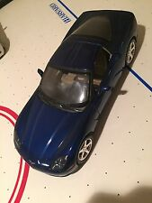 Chevrolet Corvette C6 blue Mattel model car 1:18 Free Shipping