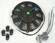 "High Performance 8"" 12 Volt Straight Blade Electric Fan 600 CFM Radiator SBC BBC"