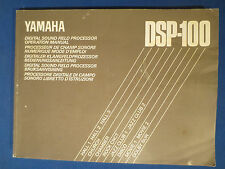 YAMAHA DSP-100 OWNERS MANUAL ORIGINAL FACTORY ISSUE   v1