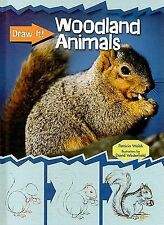 Woodland Animals (Draw It!)-ExLibrary