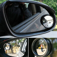 2pcs Car Small Round Mirror / Blind Spots Rearview / Reverse Auxiliary Lens Good