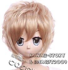 W-16-25 Blond Blonde 35cm COSPLAY Perücke WIG gestuft Perruque Anime hitzefest