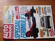 $$v Revue Auto Hebdo N°568 Rolls Royce  Renault 5  F1  205 GTi  Alain Prost  Rio