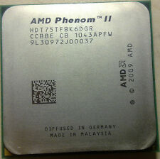 CPU AMD Phenom II X6 1075T CPU/HDT75TFBK6DGR/AM3/Six-Core/125W/6MB PROCESSOR CPU