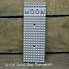 MOON GAS PEDAL COVER HOT ROD RAT VTG OLD STYLE BOAT DUNE BUGGY VW GASSER CUSTOM