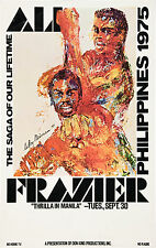 Muhammad Ali vs. Joe Frazier *Thrilla in Manila* Poster 1975 Large Format 24x36