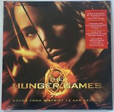 The Hunger Games Taylor Swift Maroon 5 Arcade Fire Vinyl LP & MP3 SEALED