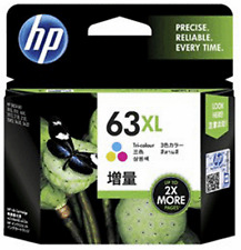 Genuine HP 63 XL High-Yield 63XL Color Ink Cartridge F6U63AN  NEW