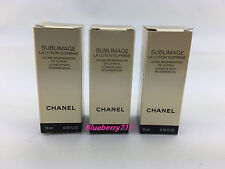 Lot of 3: Chanel Sublimage La Lotion Supreme  Skin Regeneration 10ml x 3=30ml