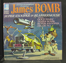 Super Snooper & Blabbermouse ‎- James Bomb LP VG+ HLP 2036 1st 1966 Vinyl Record