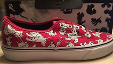 Vans X Disney 101 Dalmatians Red Puppy Story Authentic Lo Toy Pro Women's 6