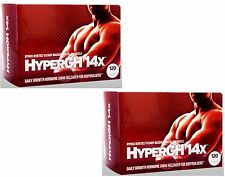 HyperGH 14x 2 Month Supply Boosts Strength From Workout LEAN ROCK HARD MUSCLES
