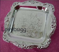 "Silver Tray Only for 18"" American Girl Doll Food  Go Lovvbugg! Widest Selection!"