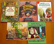 Lot 5 JACK AND THE BEANSTALK Picture Books Traditional Fractured Fairy Tales L1