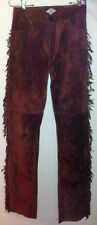 Buffy The Vampire Slayer Willow Brown Suede Fringe pants worn on Season 5 Rare