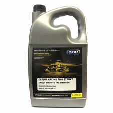 5 LTR Fully Synthetic Racing 2-Stroke Oil 2T MX Moto-x go karts motorbike