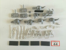 GAMES WORKSHOP WARHAMMER AGE OF SIGMAR DARK ELF ELVES COLD ONE KNIGHTS METAL OOP