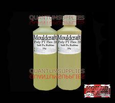 Polytek Poly PT Flex 20 Fast Cure 500g - Shore A20 Polyurethane Casting Rubber