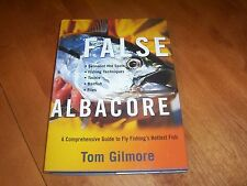 FALSE ALBACORE Fishing Fly Fish Fisherman Tackle Saltwater Game Fishes Book NEW