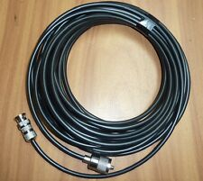 Radio Scanner Antenna Cable RG58 32FT 10M Fitted PL259 and BNC Plugs