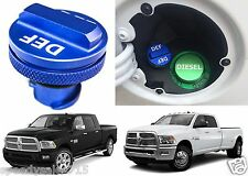 2013-2016 Dodge Ram Diesel Billet Aluminum DEF Cap Exhaust Fluid New Free Ship