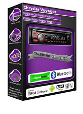 Chrysler Voyager DAB + Radio Reproductor de CD estéreo Pioneer Reproduce Ipod Iphone Usb Stick