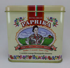 Hungarian Paprika Sweet Kalocsai Paprika 100g / 3.5 oz. Tin + FREE wooden scoop