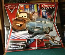 CARRERA GO SECRET MISSION 1/43 MASTER VS FINN McMISSILE VER FOTO