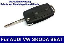 2Tasten Klappschlüssel für VW Golf4 IV Volkswagen Autoschlüssel Funkschlüssel