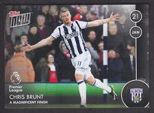 Topps Now - Premier League 2016/17 - 042 Chris Brunt - West Bromwich Albion /76
