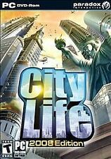 Video Game PC City Life 2008 Edition NEW SEALED BOX