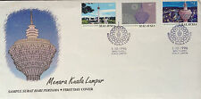Malaysia FDC with stamps (01.10.1999) - Kuala Lumpur Tower