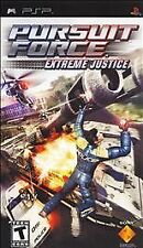 SONY PSP Pursuit Force Extreme Justice NEW