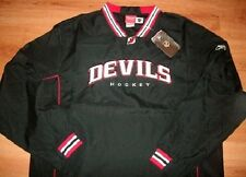 New Jersey Devils Hot Jacket Pullover Medium Black Reebok NHL