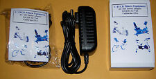 AC adapter, Power supply for Weslo Pro 11.0X Stationary Bike, New, Fast shipping