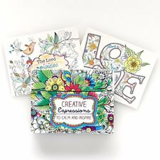 Colorful Blessings Cards Color Share creative adult KIDS coloring BOOK art DIY