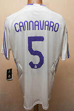*BNWT* REAL MADRID SPAIN 2007/2008 HOME FOOTBALL SHIRT CAMISETA JERSEY CANNAVARO