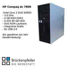 HP Compaq dc 7800 Core2Duo E6850 3,0 GHz 4 GB RAM 80 GB HDD DVD-ROM