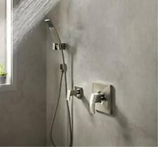 Pfister 016-2DFB Kenzo Wall Mounted Handshower and Diverter Trim, Black color