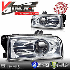 92-98 BMW E36 3 Series / M3 Clear Halo Projector Fog Lights Clear Lens - PAIR