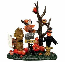 Lemax 73606 SPOOKYTOWN CROSSROADS Spooky Town Table Accent Retired Halloween I