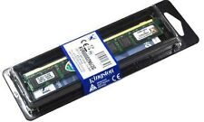 UK. New Kingston 2GB PC2-6400 800mhz 240 pin DIMM DDR2 ram memory