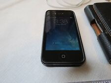 Apple Iphone 4S AT&T smartphone MC922LL/A black ATT A1387 TESTED adult owned