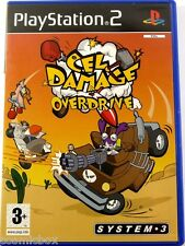 PlayStation 2 CEL DAMAGE OVERDRIVE jeu video de voitures pour console Sony ps2