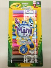 Crayola Pack of 14 Pip-squeaks fully washable mini-markers