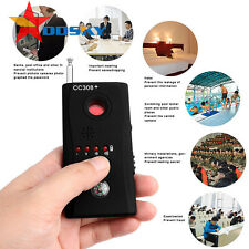 Full Range Wireless Camera Cell Phone GPS Spy Bug RF Signal Detector Finder US